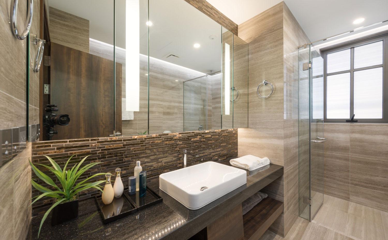 Nội thất phòng tắm Nhà liền kề The Manor Central Park