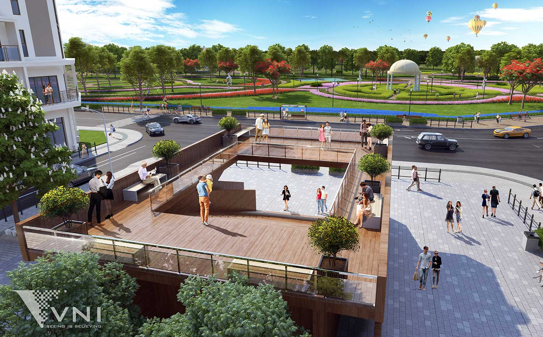 Phối cảnh 3D giai đoạn 2 dự án The Manor Central Park