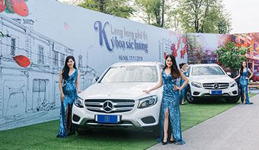 Lễ mở bán The Manor Central Park và bốc thăm xe Mercedes GLC 200 ngày 17/11/2019