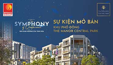 Sự kiện The Symphony of Quintessence giới thiệu phân khu Đông The Manor Central Park tại KS JW Marriott ngày 24/10/2020