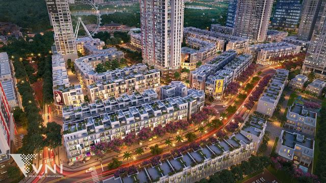 Shophouse trục đại lộ Hoàng Mai giai đoạn 2