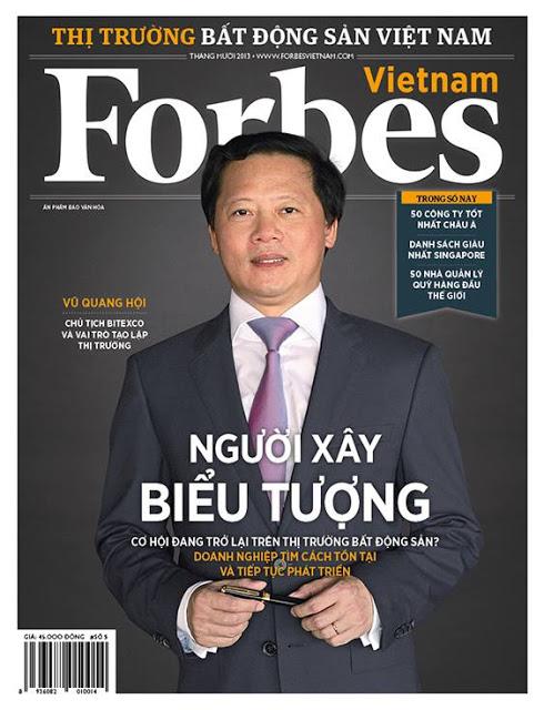 Chủ tịch tập đoàn Bitexco Ông Vũ Quang Hội