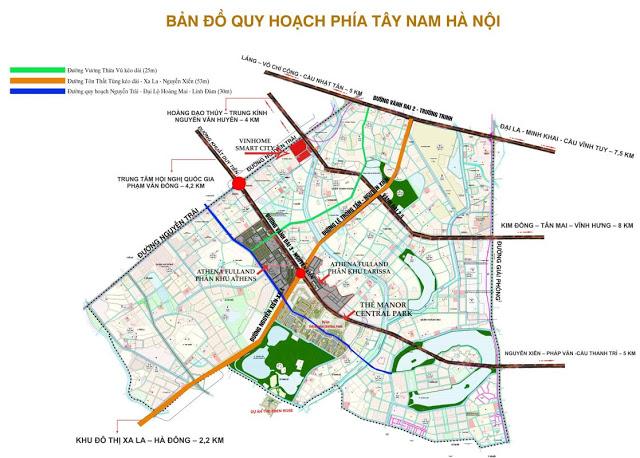 Quy hoạch giao thông phía Tây Nam Hà Nội