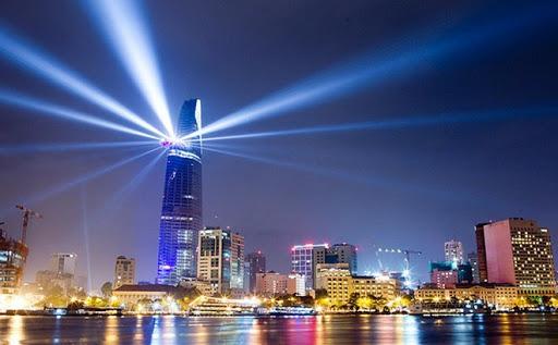 Tháp tài chính Bitexco Trong Sài Gòn