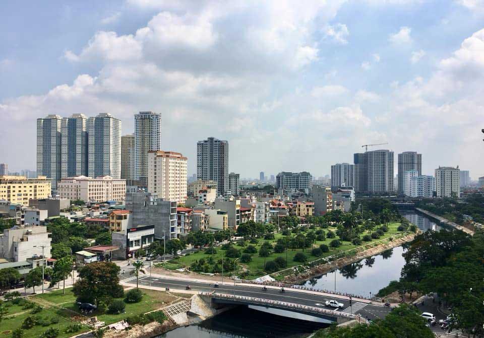 Cầu nối Đại Lộ Hoàng Mai với KĐT Tây Nam Linh Đàm
