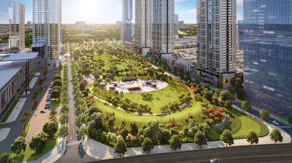 Khu đô thị The Manor Central Park kiến tạo giá trị thụ hưởng cuộc sống mới cho cư dân