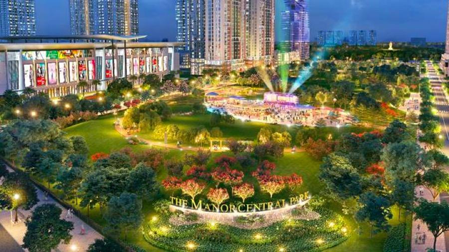 The Manor Central Park hứa hẹn trở thành điểm đến mới hấp dẫn của thủ đô