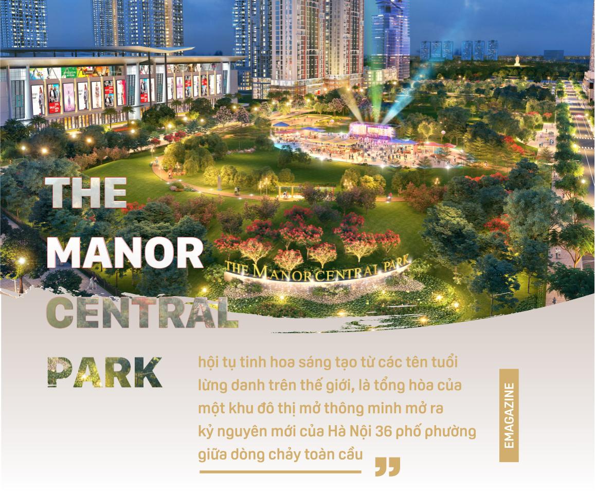 The Manor Central Park công trình biểu tượng MỚI của BITEXCO