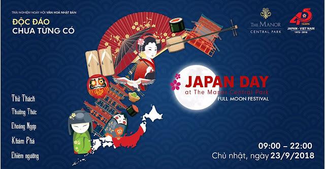 Lễ hội văn hóa Nhật Bản tổ chức tại khu nhà phố thương mại The Manor Central Park 1