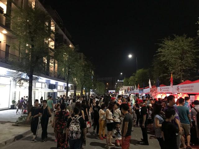 Lễ hội văn hóa Nhật Bản tổ chức tại khu nhà phố thương mại The Manor Central Park 2