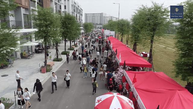 Lễ hội văn hóa Nhật Bản tổ chức tại khu nhà phố thương mại The Manor Central Park 3