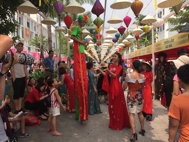 Lễ hội văn hóa Nhật Bản tổ chức tại khu nhà phố thương mại The Manor Central Park 5