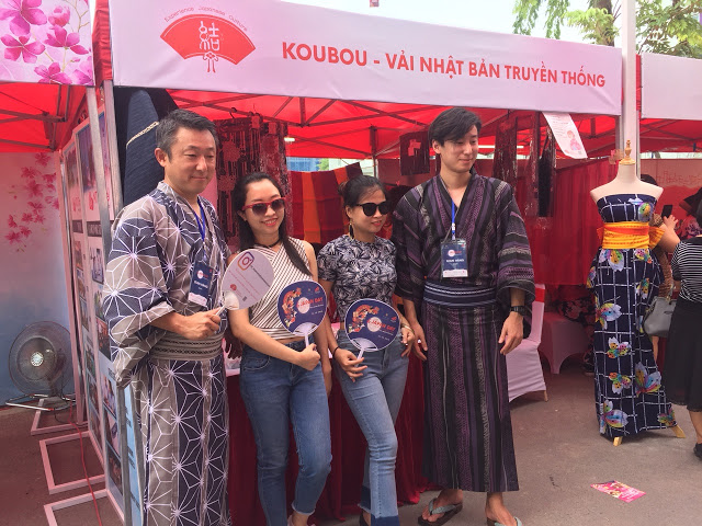 Lễ hội văn hóa Nhật Bản tổ chức tại khu nhà phố thương mại The Manor Central Park 6