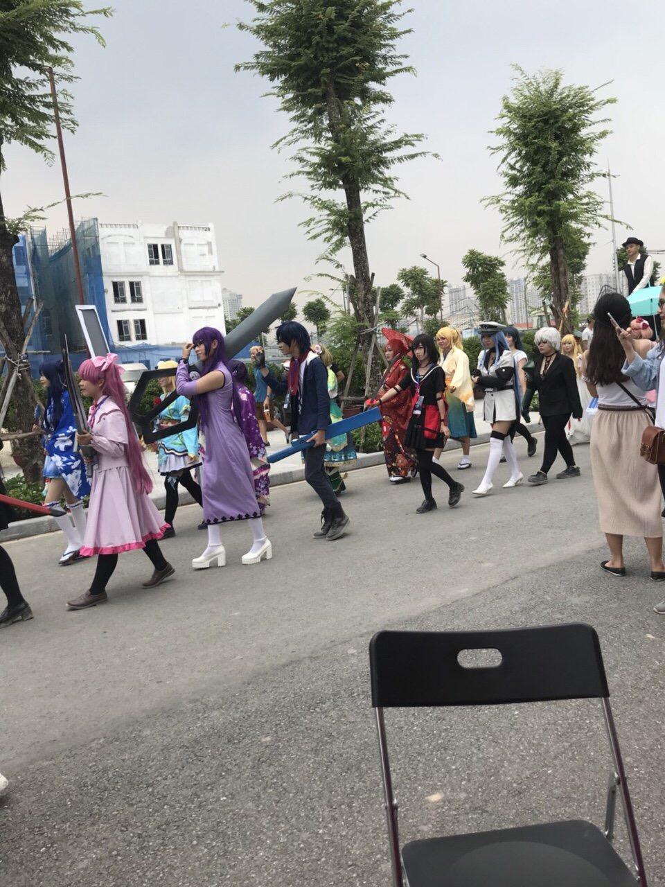 Lễ hội văn hóa Nhật Bản tổ chức tại khu nhà phố thương mại The Manor Central Park 7