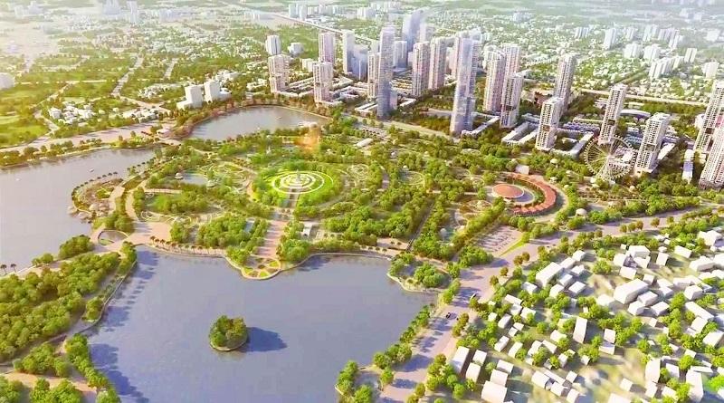 Quy hoạch dự án khu đô thị The Manor Central Park